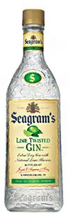 Seagram's Gin Lime Twisted 750ml